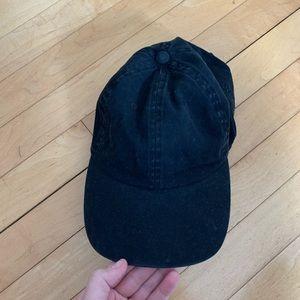 BDG black faded cap